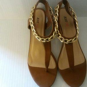 Just Fab Thong Sandal